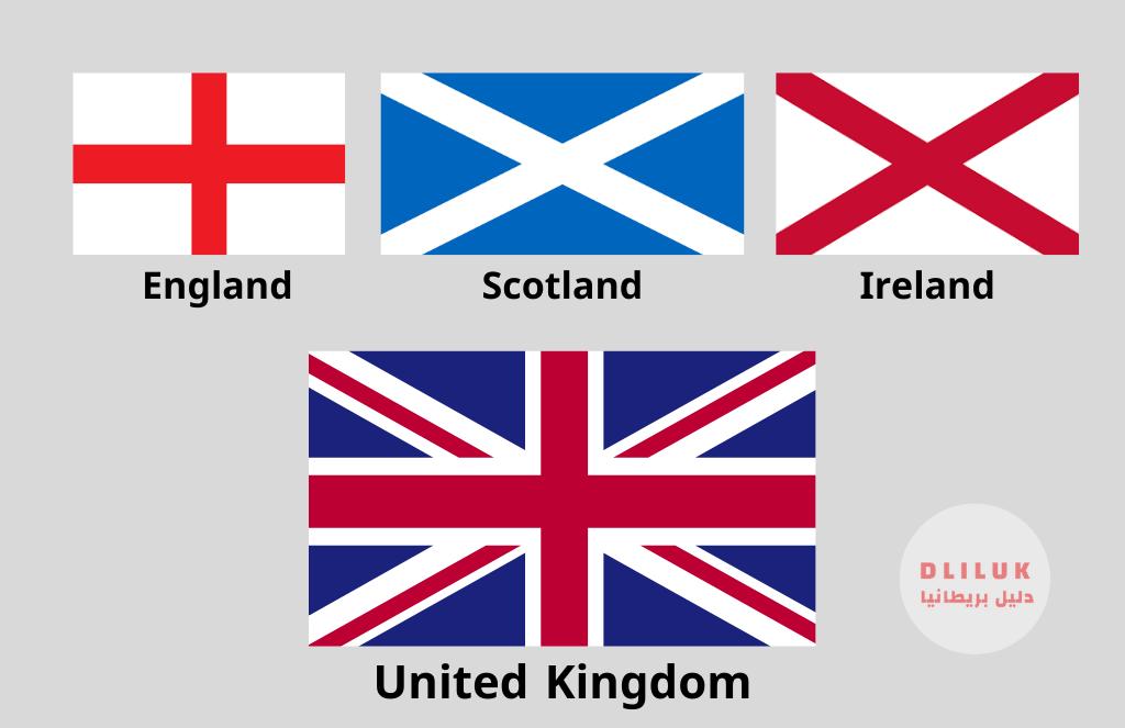 الفرق بين بريطانيا العظمى وانجلترا والمملكة المتحدة