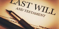الوصية القانونية في بريطانيا UK Making a will إستشارات قانونية