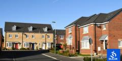 منازل اللاجئين في بريطانيا وأنواع الاسكان في المملكة المتحدة