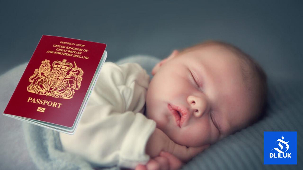 تسجيل المولود الجديد في بريطانيا